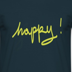 happy - Men's T-Shirt