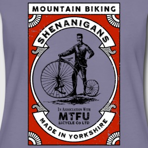 Cycling T Shirt - Mountain Biking Shenanigans - Wo - Women's Premium T-Shirt