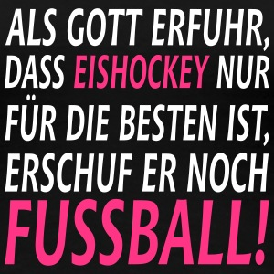 eishockey vs fussball T-Shirts - Frauen Premium T-Shirt