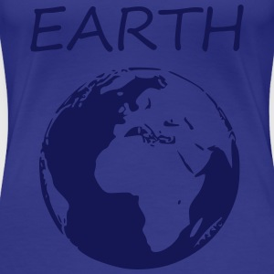 Earth - Frauen Premium T-Shirt