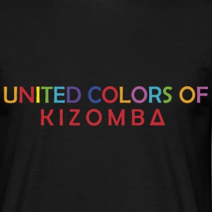 United colors of kizomba - T-shirt Homme