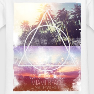 Smileyworld 'Miami Beach' - Teenager T-Shirt