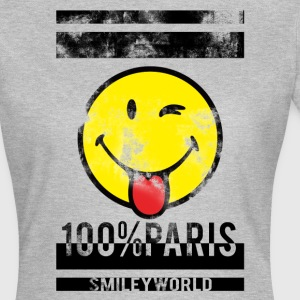 Smileyworld '100% Paris' - Camiseta mujer