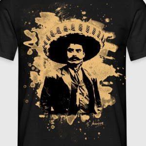 Emiliano Zapata - bleached natural - Männer T-Shirt