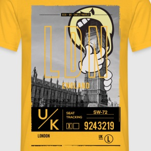 Smileyworld 'London Big Ben' - Men's T-Shirt