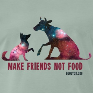 Make Friends Not Food #1 - T-shirt Premium Homme