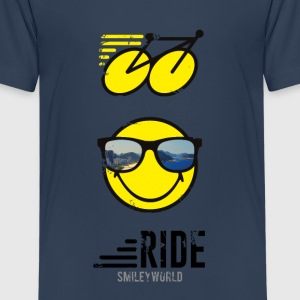 SmileyWorld RIDE Bike - Camiseta premium adolescente