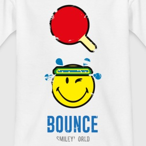 SmileyWorld BOUNCE Tischtennis - Teenager T-Shirt