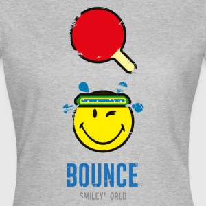 SmileyWorld BOUNCE Tischtennis - Frauen T-Shirt