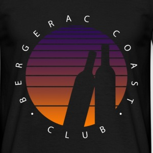 Bergerac Coast Club - Sunset Classic - T-shirt Homme