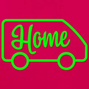 Home in a van - Autonaut.com - Women's T-Shirt