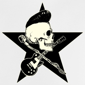 Rock-n-Roll Skull - Baby T-Shirt