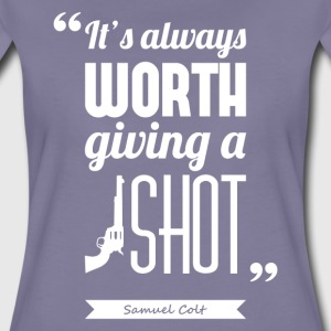 Citation Samuel Colt | T-shirt ♀ - T-shirt Premium Femme