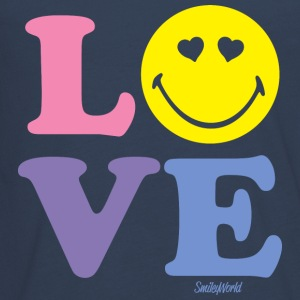 SmileyWorld LOVE - Teenager premium T-shirt med lange ærmer