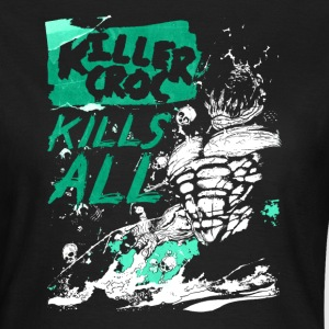 Suicide Squad Killer Croc Kills All - Dame-T-shirt