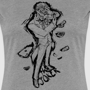 Suicide Squad The Joker Line Art - Vrouwen Premium T-shirt