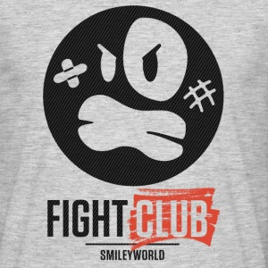 SmileyWorld Fight Club Rowdy Smiley - Männer T-Shirt