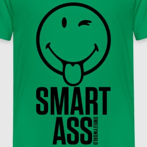 SmileyWorld Monsieur Je-Sais-Tout Smart Ass - T-shirt Premium Ado