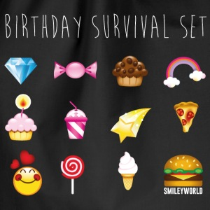 SmileyWorld Birthday Survival Set - Gymtas