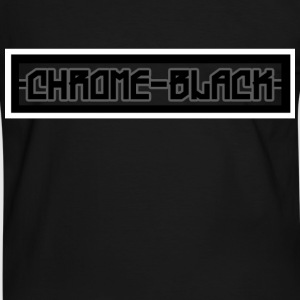 Chrome Black  - Männer Kontrast-T-Shirt