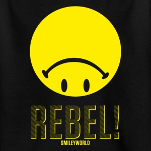 SmileyWorld Rebel Upside Down Smiley - Teenage T-shirt