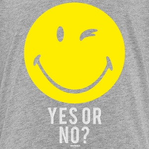 SmileyWorld Oui Ou Non Yes Or No - T-shirt Premium Ado