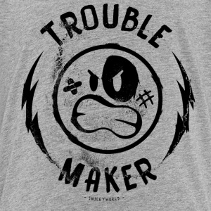 SmileyWorld Trouble Maker - Teenage Premium T-Shirt
