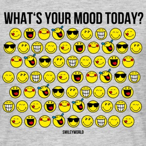 SmileyWorld What's Your Mood Today? - T-shirt Homme