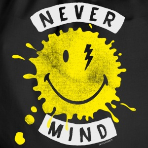 SmileyWorld Never Mind Splash Smiley - Turnbeutel