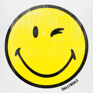 SmileyWorld Classic Wink Smiley - Teenager Premium T-shirt