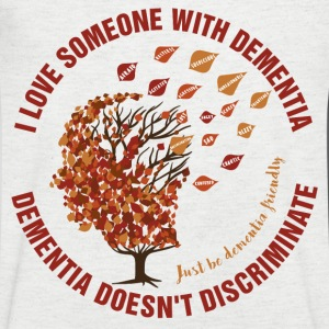 Dementia Doesn't Discriminate. - Men's Organic V-Neck T-Shirt by Stanley & Stella