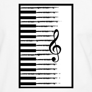 Piano Keys - Men's Ringer Shirt