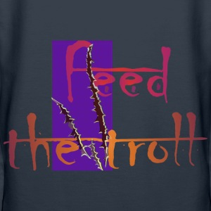 feed the troll - Frauen Premium Hoodie