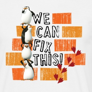 Pinguine 'We can fix this!' - Männer T-Shirt