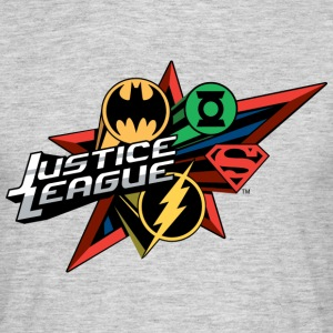 Justice League Logo Mix - T-shirt Homme