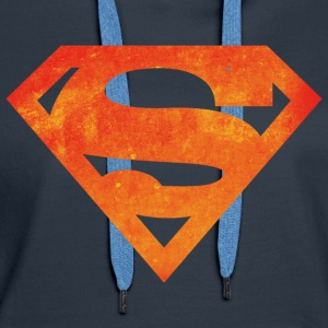Justice League Superman Logo - Premium hettegenser for kvinner