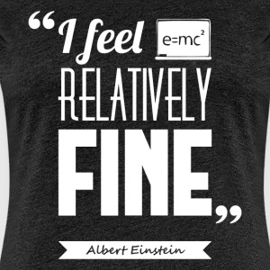 Citation Albert Einstein | T-shirt ♀ - T-shirt Premium Femme