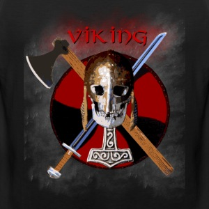 VIKING – Shield Skull - Männer Premium Tank Top