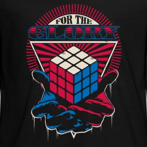 Rubik's For The Glory - T-shirt manches longues Premium Ado