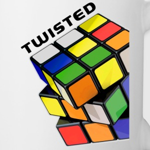Rubik's Twisted Cube tilted - Mugg