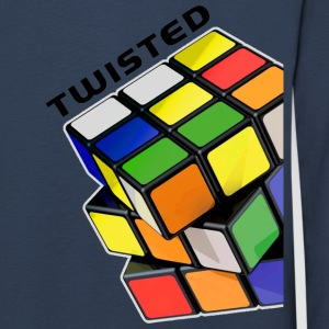 Rubik's Twisted Cube tilted - Kids' Premium Longsleeve Shirt