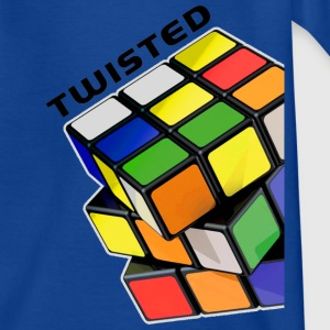 Rubik's Twisted Cube tilted - Teenager-T-shirt