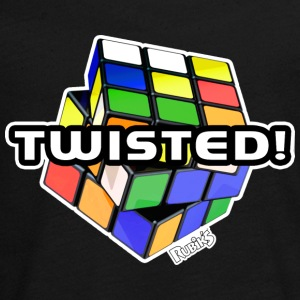 Rubik's Twisted! Cube Unsolved - Teenagers' Premium Longsleeve Shirt