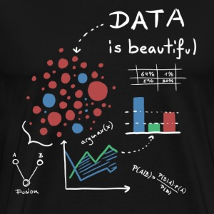 Data is beautiful! - Männer Premium T-Shirt