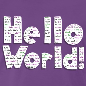 Hello World! - Männer Premium T-Shirt