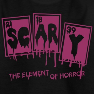 Scary Chemische Elemente Horror - Teenager T-Shirt