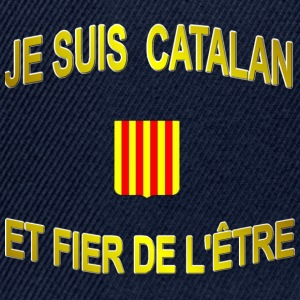 Casquette supporters du pays CATALAN. - Casquette snapback