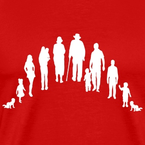Family life pension T-Shirts - Men's Premium T-Shirt