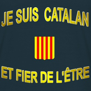 Tee-Shirt supporter du pays CATALAN - T-shirt Homme