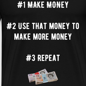 Make money UK - Men's Premium T-Shirt